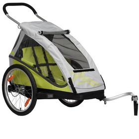 XLC Mono - Remorque vélo - jaune/gris